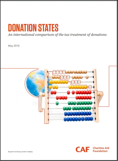 Donation States 보고서 (출처 : https://www.cafonline.org)