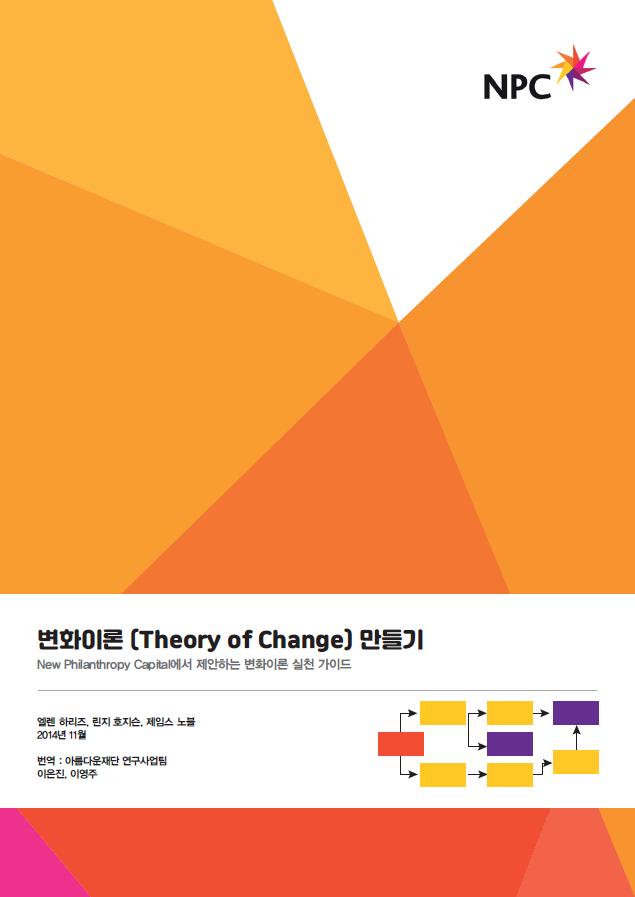 변화이론 만들기(Theory of Change)변화이론 만들기(Theory of Change)