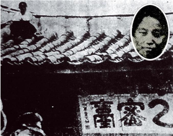 실존 인물이었던 강주룡의 사진 (출처 : 한국여성사편지)
