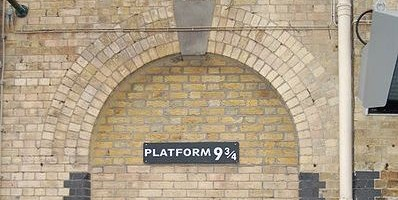 플랫폼 9와 3/4를 찾아라!