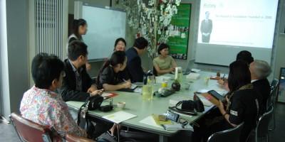 태국 옴부즈만(Office of the Ombudsman)에서 아름다운재단을 방문했어요!