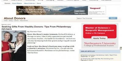 [고액기부를 위한 Tip] Seeking Gifts From Wealthy Donors