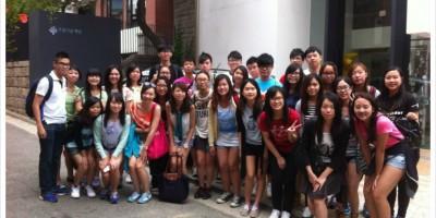 펜실바니아 대학, 홍콩 대학 기관방문