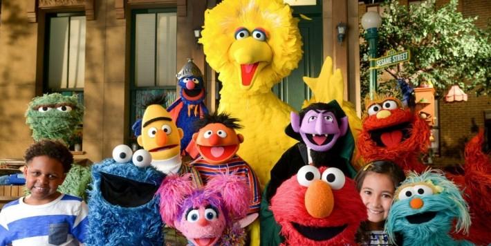 Sesame Street 등장 캐릭터들